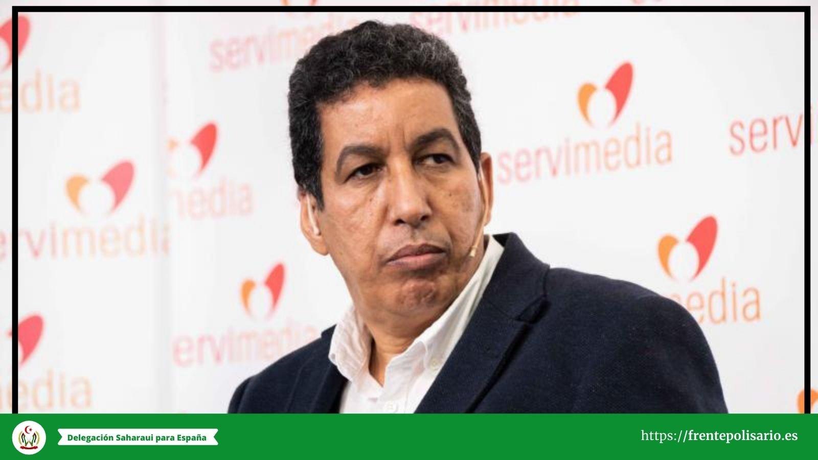 Delegado saharaui en España, Abdulah Arabi