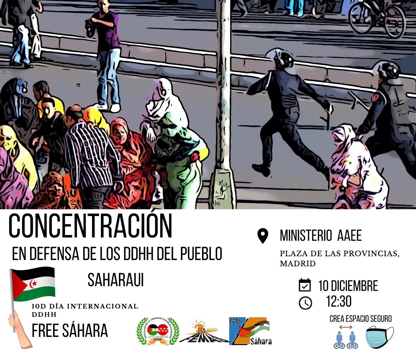 Convocan manifestación para exigir el respeto a los DDHH del pueblo saharaui