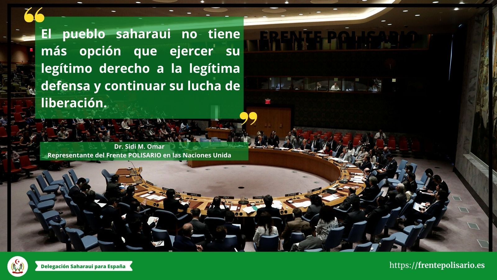 La inacción del Consejo de Seguridad socava las perspectivas de la solución pacifica y deja la puerta abierta a la escalada de la guerra en curso