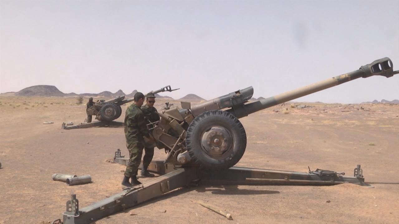 Resumen del 8º parte de guerra en el Sahara Occidental