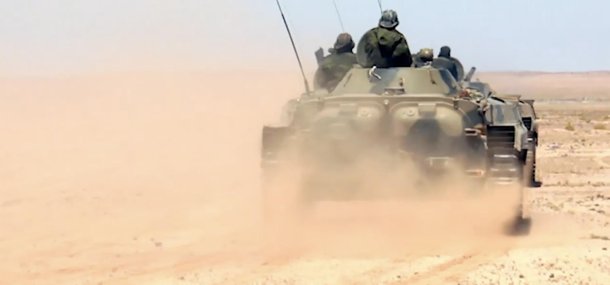 Resumen del 4º parte de guerra en el Sahara Occidental
