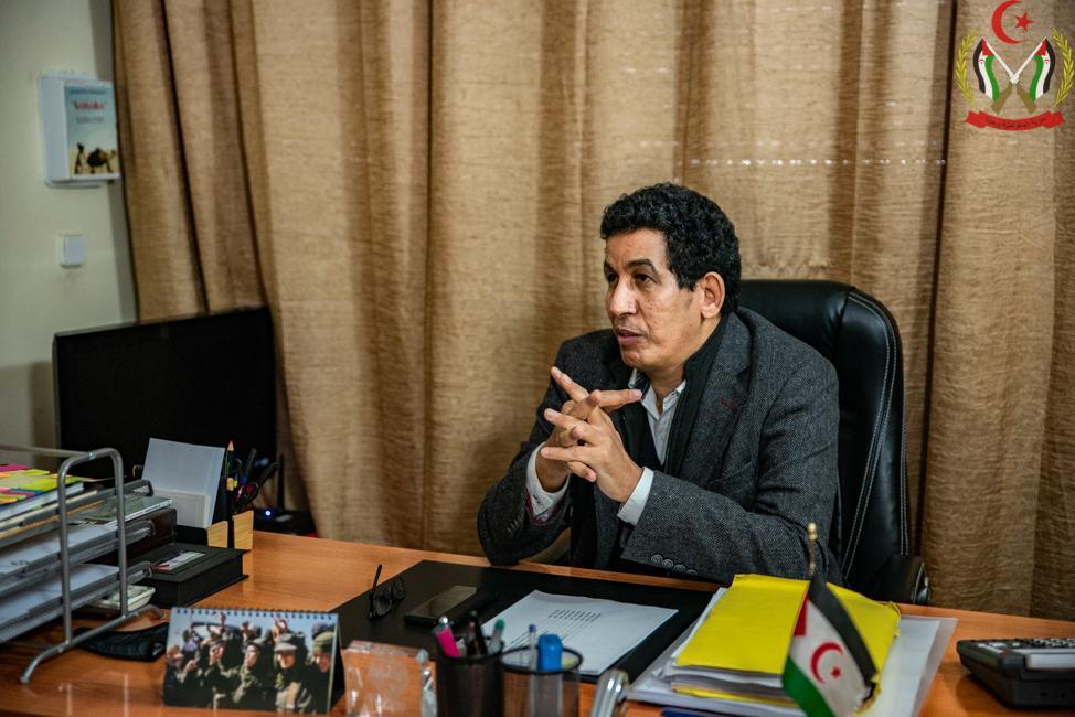 """Abdulah Arabi: """"El pueblo saharaui es quien realmente ha apostado por la paz y la estabilidad"""""""