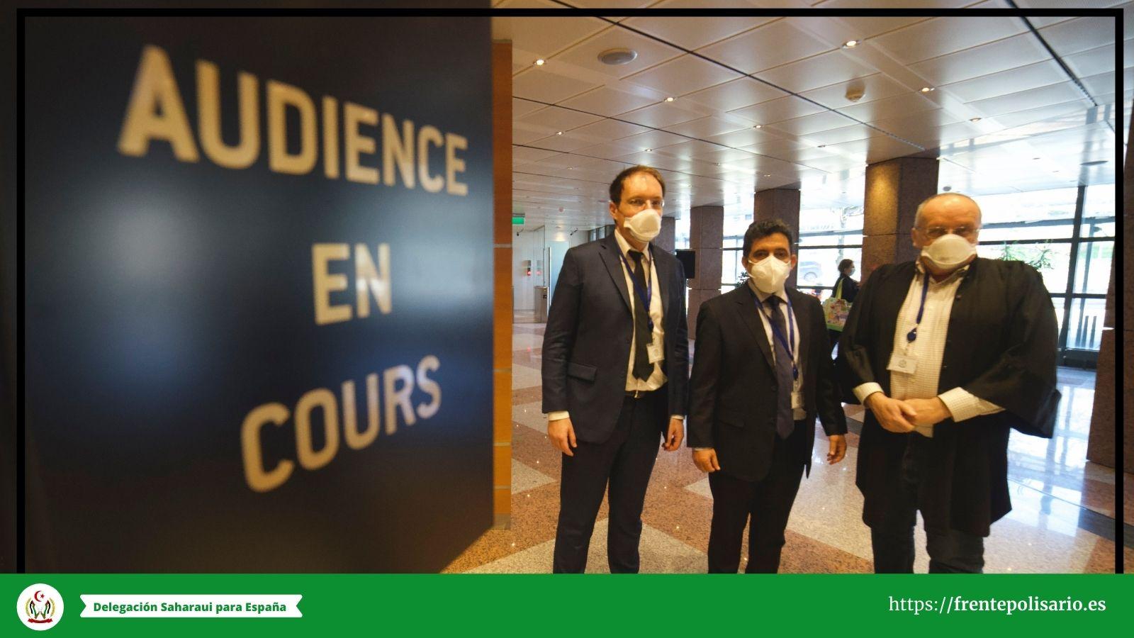EL TJUE EXAMINA LOS RECURSOS DEL FRENTE POLISARIO CONTRA LOS ACUERDOS UE/MARRUECOS QUE INCLUYEN EL SAHARA OCCIDENTAL