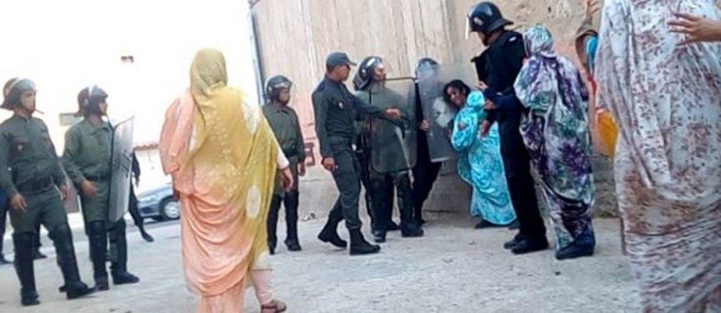 Violencia contra la población saharaui en los territorios ocupados por Marruecos