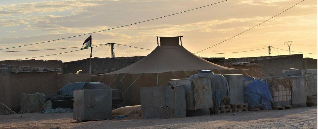 Campamentos de población refugiada saharaui