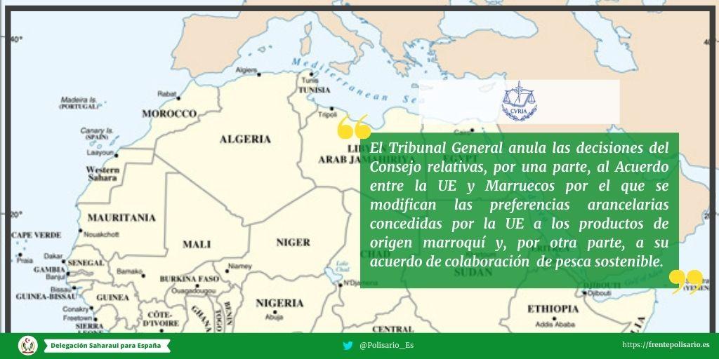 Rueda de prensa del Frente Polisario tras la sentencia del Tribunal de Justicia de la UE