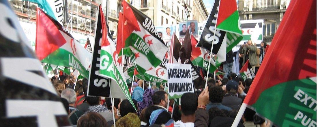 Manifestación Estatal por un Sahara Libre
