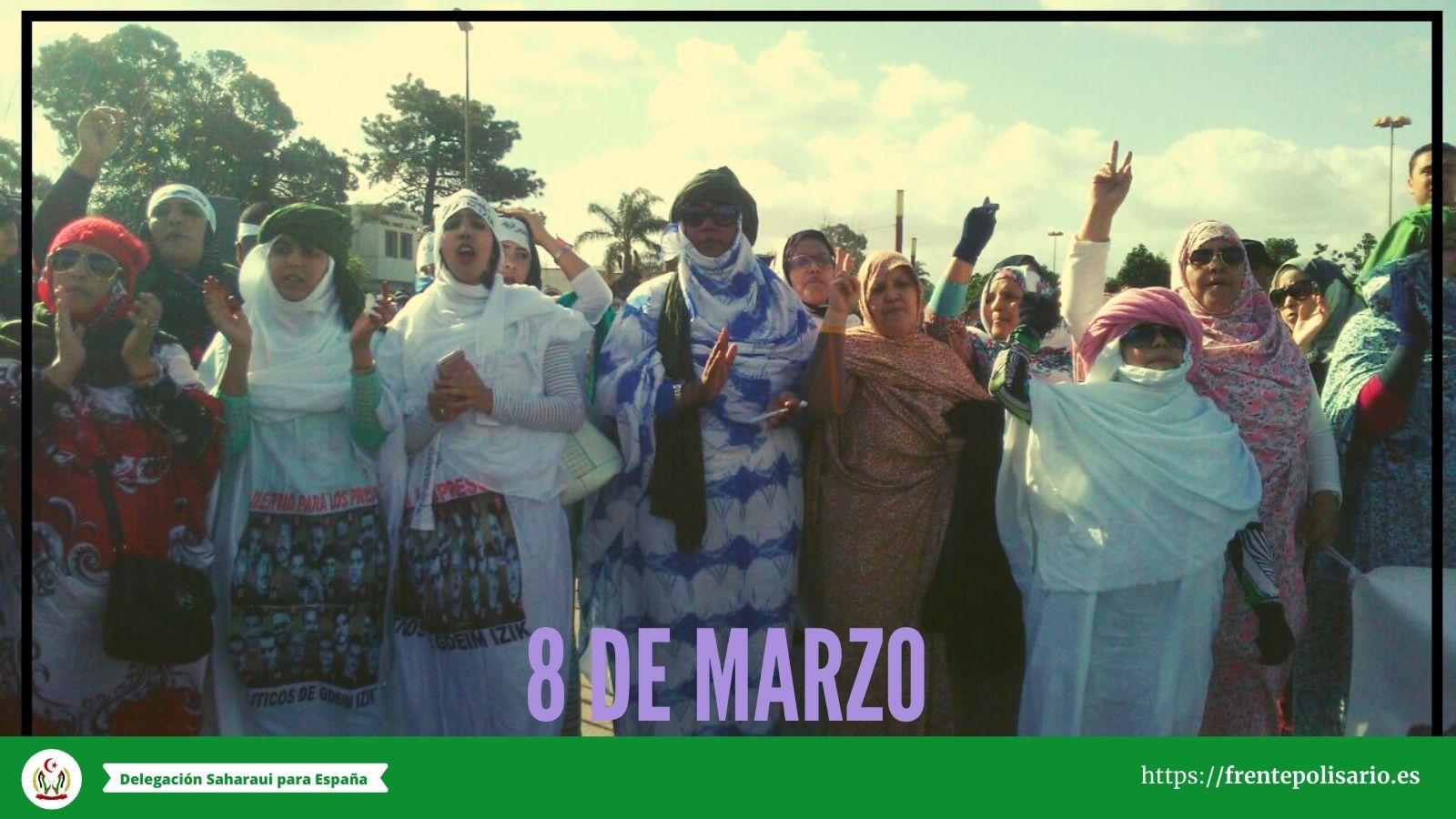 """8 de marzo: """"Saharauía libre"""""""